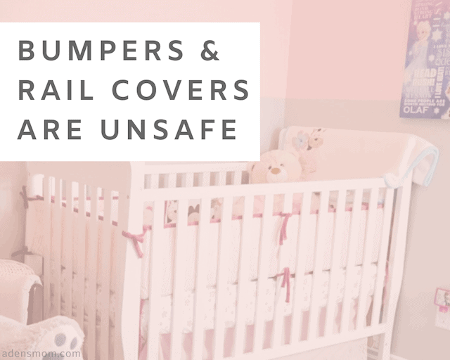 delete from baby registry bumpers rail covers what to register for instead